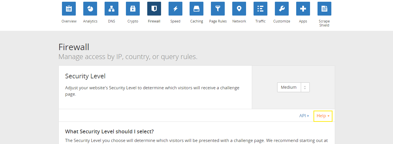 """The """"Help"""" link is clicked and more information is revealed."""