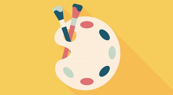 Easel illustration
