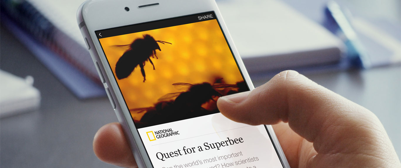 Facebook Instant Articles will launch in April.