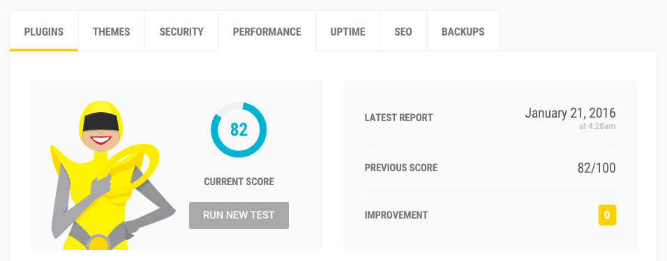 Improve your Google PageSpeed Insights score with The Hub.