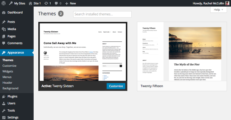 WordPress Multisite - theme enabeld in site's themes screen