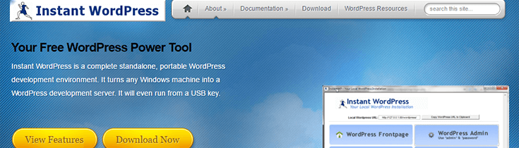 Instant_WordPress