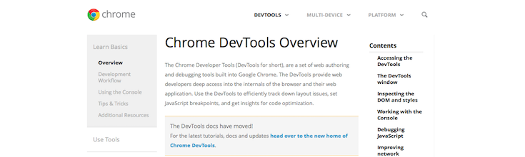chrome-dev-tools