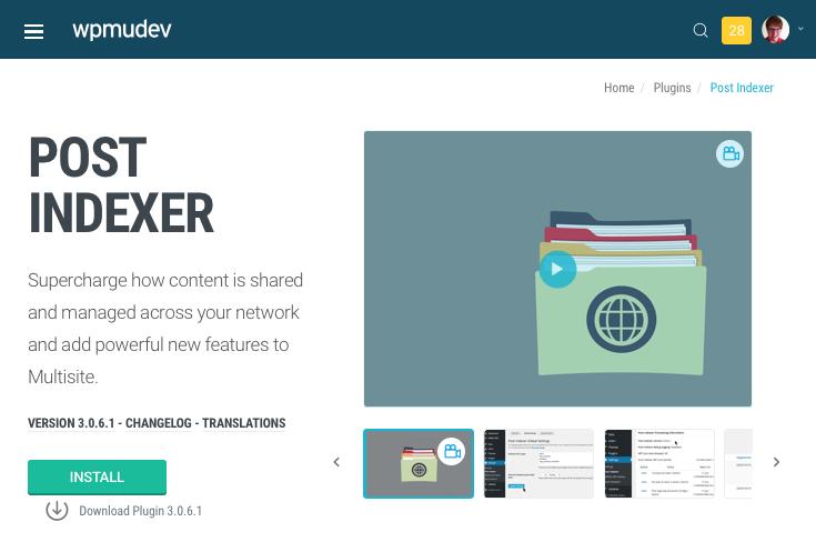Post Indexer plugin