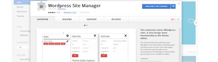 wordpress-site-manager