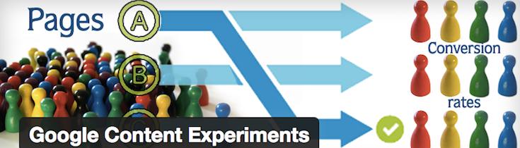Google Content Experiments-Plugin