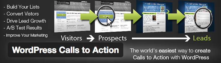 WP Calls to Action-Plugin