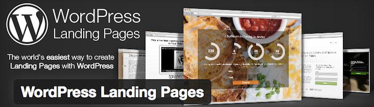 WordPress Landing Pages-Plugin