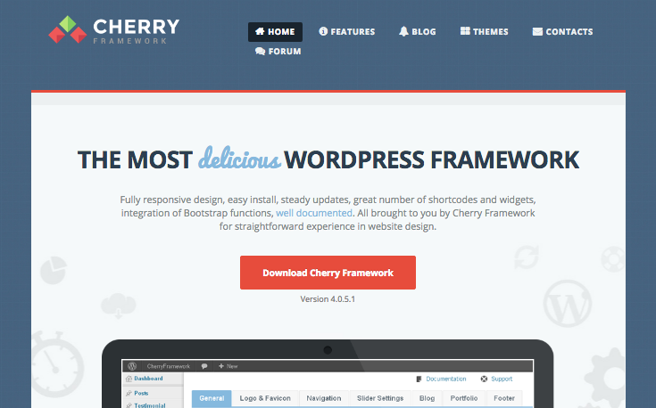 cherry framework website
