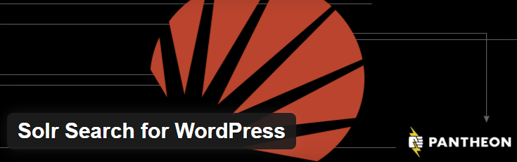 Solr Search for WordPress plugin image from WordPress.org