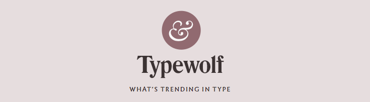 typewolf website screenshot