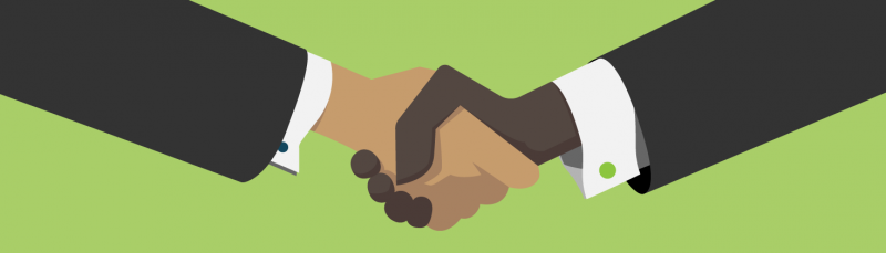 CRM handshake