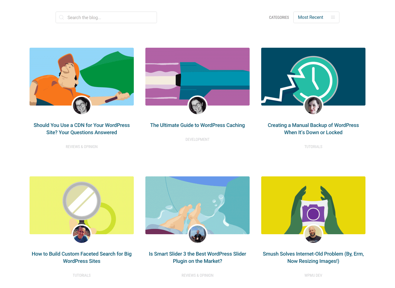 Our blog now features a grid-style homepage so you can easily browse through recent posts and categories.