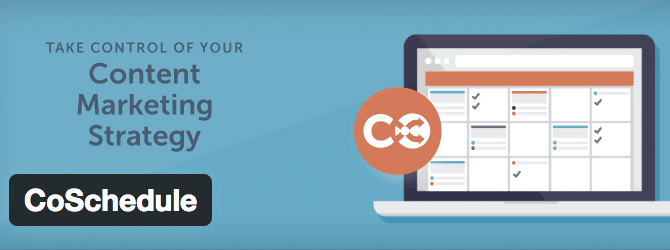 CoSchedule is an editorial calendar for your content marketing and social scheduling.