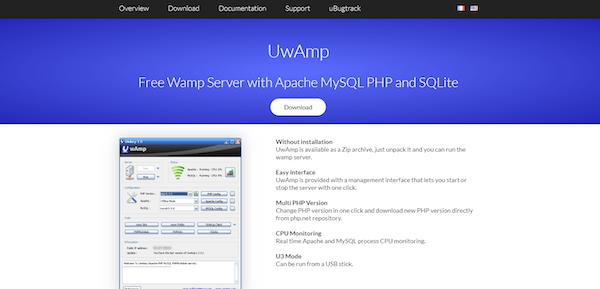 The uwamp website