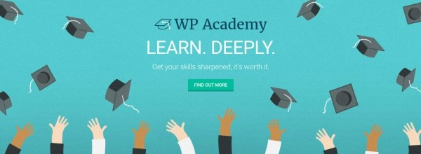 Learn WordPress at The Academy. Free for WPMU DEV members!