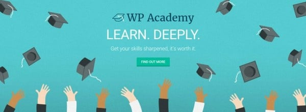 Learn WordPress at The Academy. Free for WPMU DEV members!