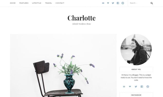 Charlotte theme