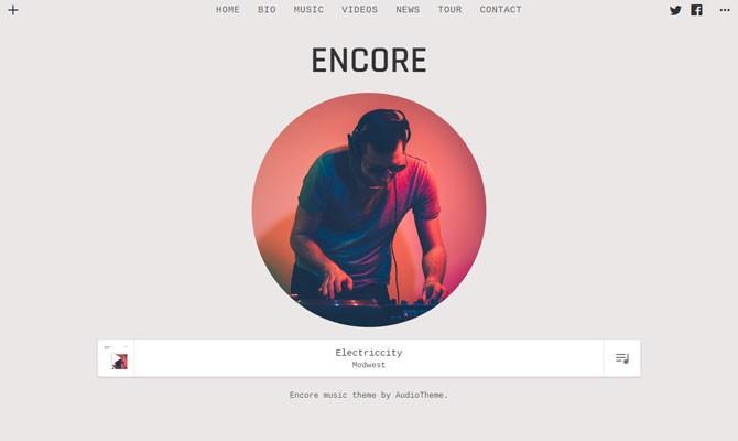 Encore theme