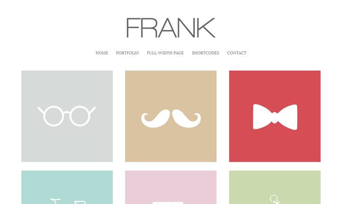 Frank theme