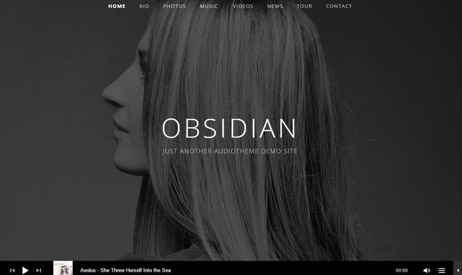 Obsidian theme