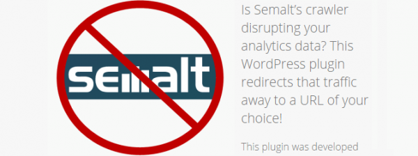 Semalt Blocker plugin