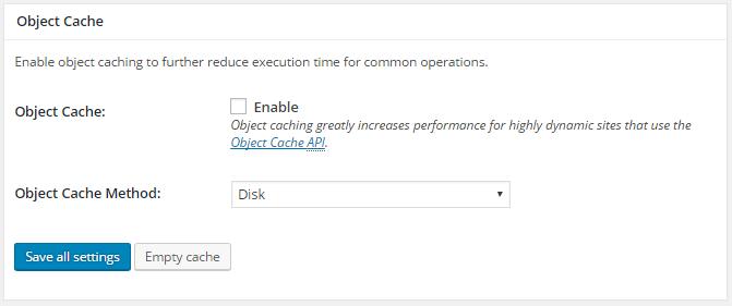 w3 total cache - Como Instalar e Configurar 12