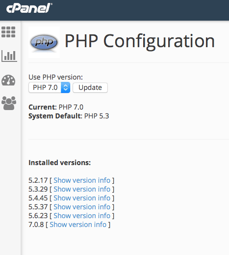 Don't forget to update to the latest version of PHP.