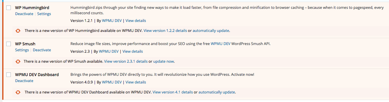 Always keep your plugins up-to-date to ensure you are using the latest version.