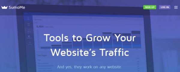 SumoMe website screenshot