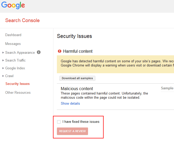 Google Search Console is a free service offered by Google that helps you monitor and maintain your site's presence.