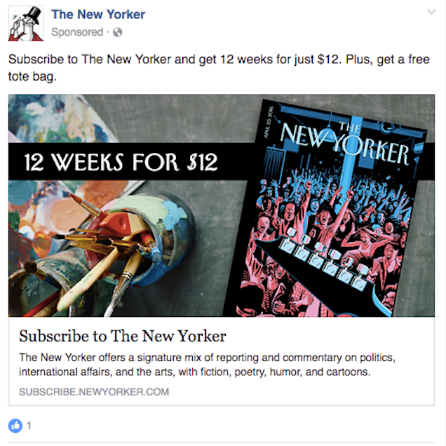 The New Yorker - remarketing