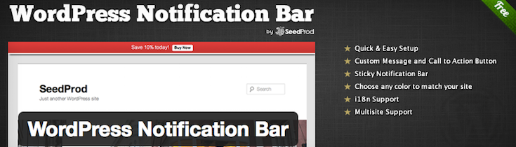 WordPress_Notification_Bar