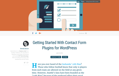 Help your visitors reach you with a great contact form.