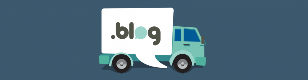 .blog domain extensions