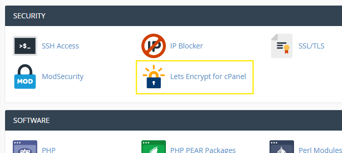 Install Fast and Free SSL and HTTPS in cPanel with Let's