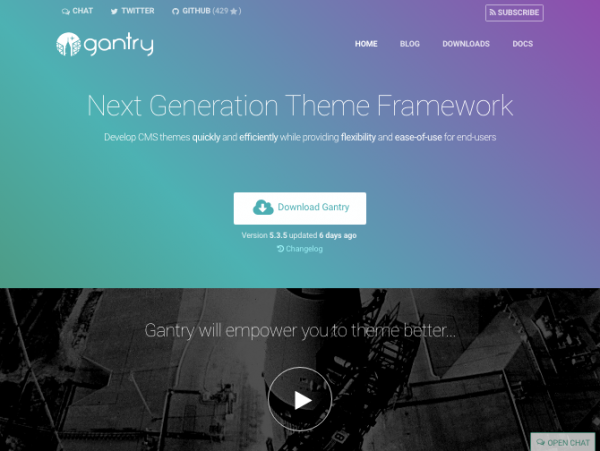 Gantry website