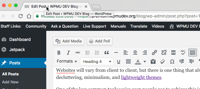 When you hover over tabs in Chrome, tooltips appear letting you know what the page is about.