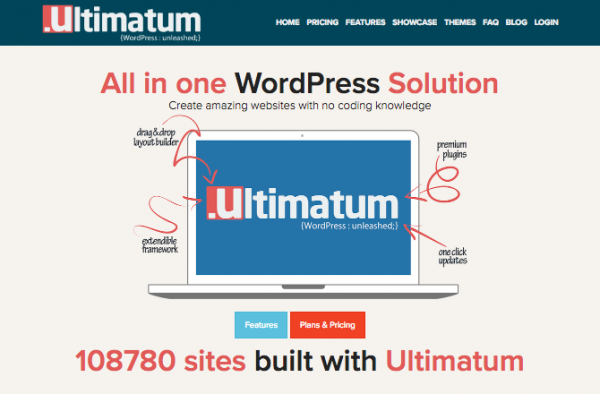 Ultimatum website