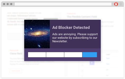 Detect Adblocker with this handy trigger in Hustle.