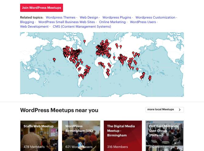 There are WordPress meetups all around the world - your local one can help you develop your skills and make contacts