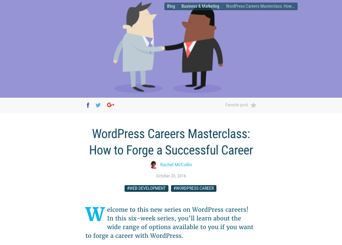 Careers course part 1