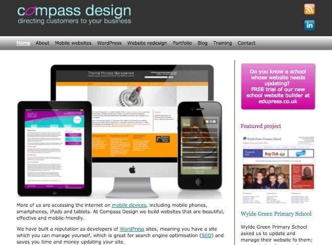 Compass Design website