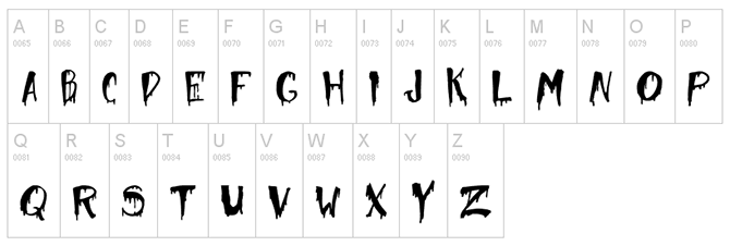 Add a spooky font to your site for a bit of fun!