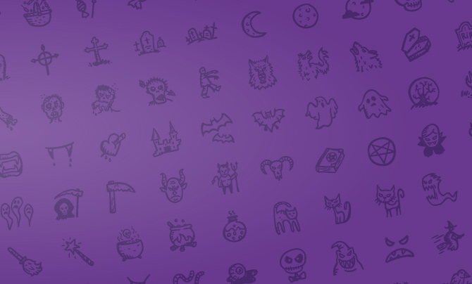 Smashing Magazine has some fantastic hand drawn spooky icons.