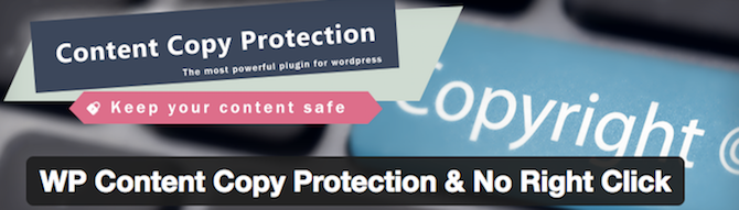 Disable right-clicking on your site with the WP Content Copy Protection & No Right Click plugin.