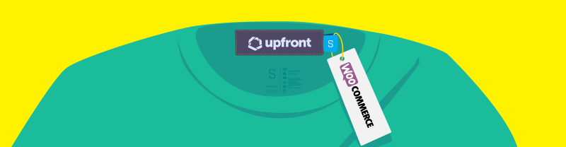 Upfront comes with WooCommerce integration