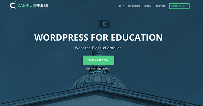 CampusPress uses Multisite to host paid for education sites.