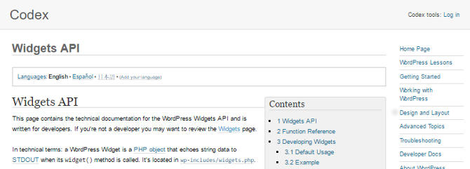 You'll find more information about the Widget API in the WordPress Codex.