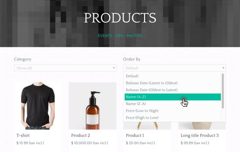 Stunning MarketPress integration with the Luke + Sara Upfront theme.
